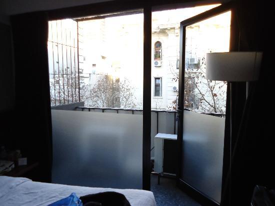 Epico Recoleta Hotel: Sacada