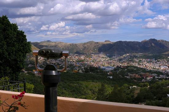Casa Estrella de la Valenciana: View of the valley of Guanajuato