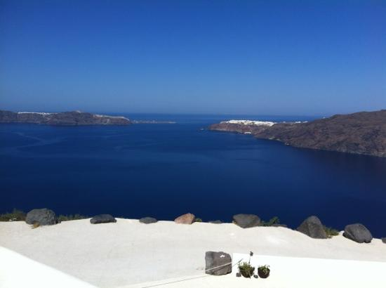 Rocabella Santorini Resort & Spa: the view from our room
