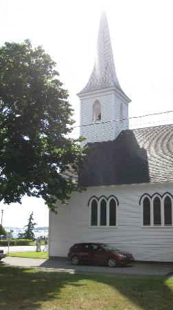 Fisherman's Daughter: One of two churches