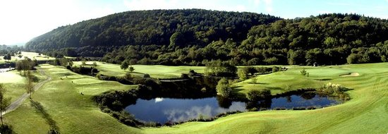 Woodenbridge Golf Club: Water between the 9th and 11th greens