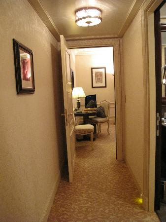 Entrance to room.