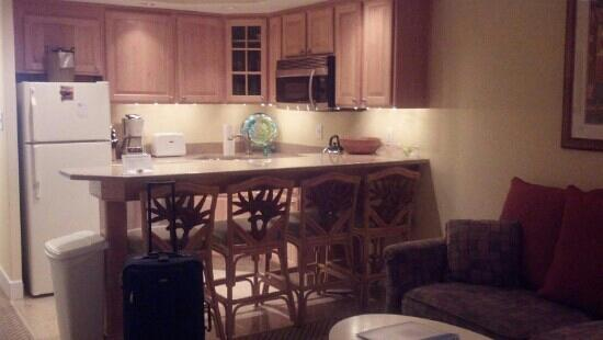 The Villas of Hatteras Landing: Kitchen