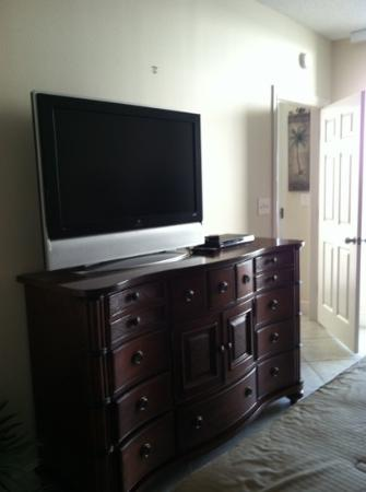 Majestic Beach Towers: Master Suite TV