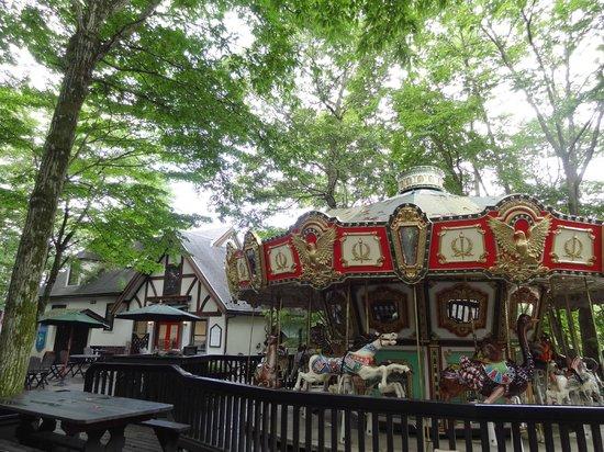 Hokuto, Japón: 森のメリーゴーラウンド