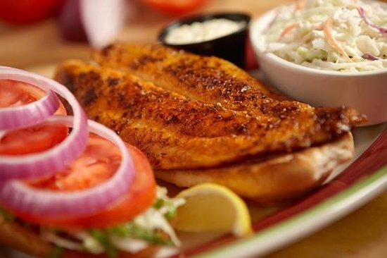 FATZ: Lite Fish Sandwich
