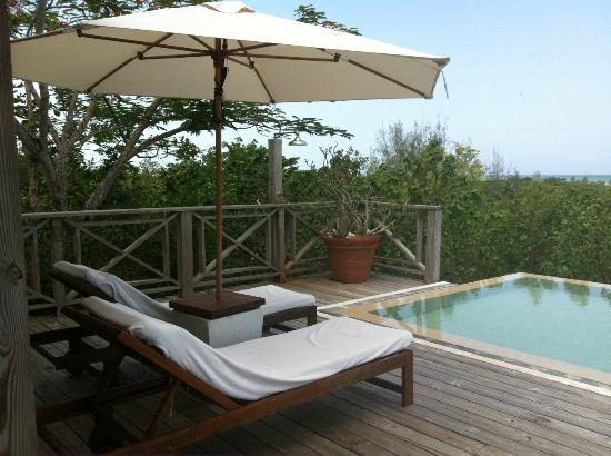 Parrot Cay by COMO: infinity pool at Pirate House