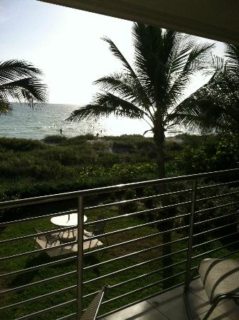 The Beach on Longboat Key: Just before sunset