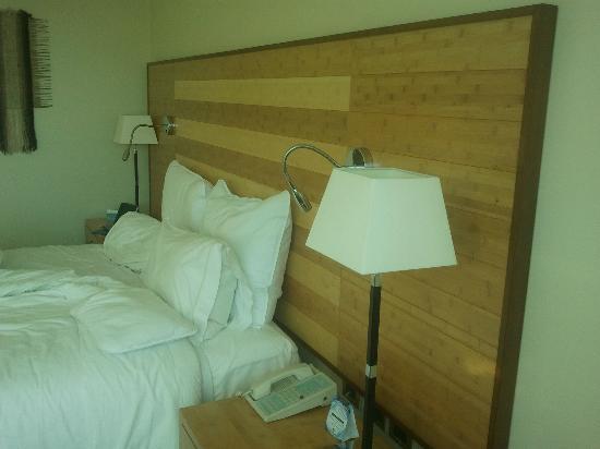 Sonesta Hotel Osorno: Cama muy buena y dura.