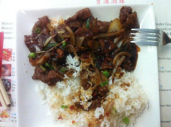 Mongolian Beef (Spicy)