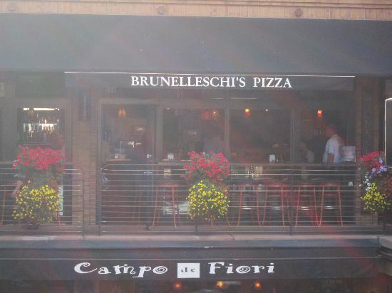 Brunelleschi's Dome Pizza: Storefront