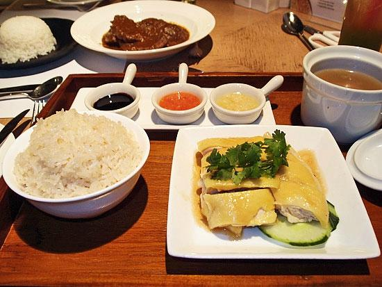 Hotel Jen Hong Kong: Cafe 508 - Chicken rice