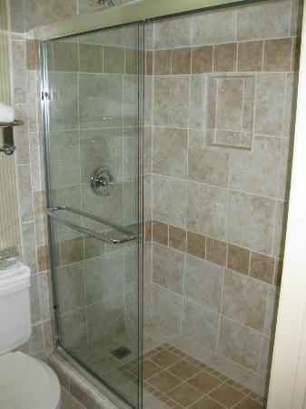 Holiday Inn Express Hotel & Suites Pasadena Colorado Blvd.: shower
