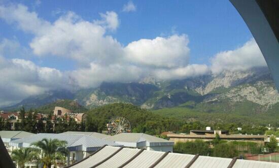 Queen Elizabeth Elite Suite Hotel & Spa : view from my room