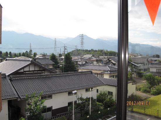 Hotaka Town Hotel: Azumino mountain view from room