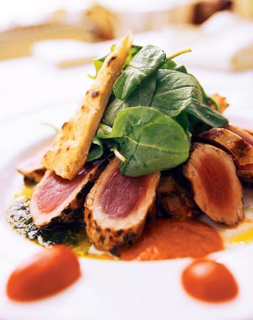 Serafina at The Time Hotel: Tuna Salad