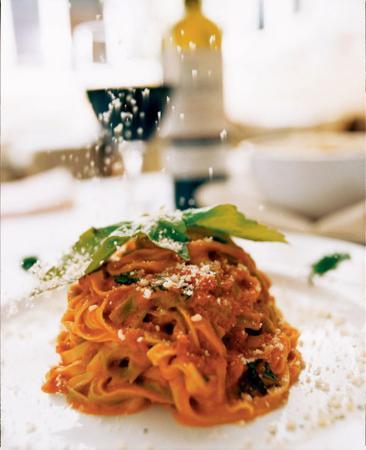 Serafina at The Time Hotel: pasta