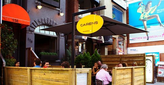 Carens Wine and Cheese Bar : Front