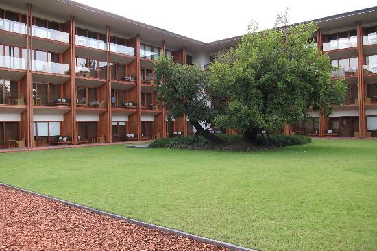 Anantara Chiang Mai Resort: quiet hotel garden