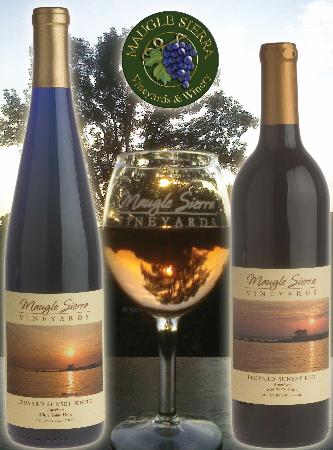 Maugle Sierra Vineyards: Sunsets with Goosebumps