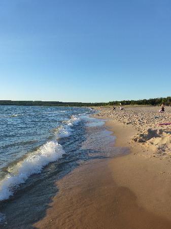 Petoskey, Мичиган: Pristine Beach