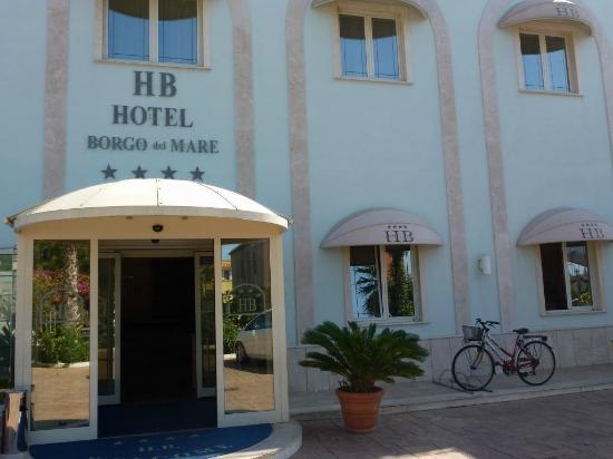 Hotel Borgo del Mare: Fachada principal