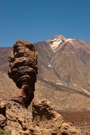 泰德峰火山照片