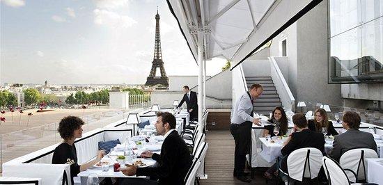 Shangri La Paris Rooftop Restaurant