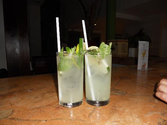 The Reef Coco Beach: Wonderful Cucumber Mojito's