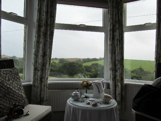 Hazelmere House: View from our room