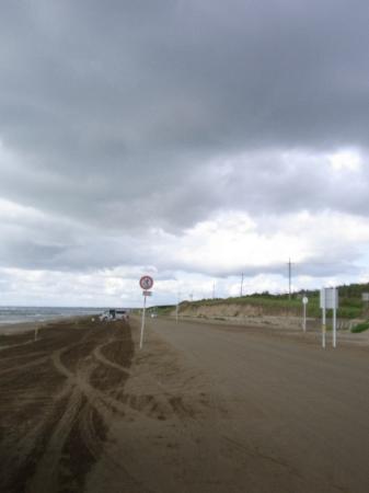 千里浜なぎさドライブウェイ, way