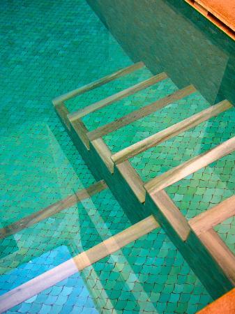 Riad Kniza I Love The Pool Tiles