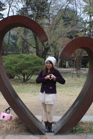 Nami Island: Hearts are everywhere!