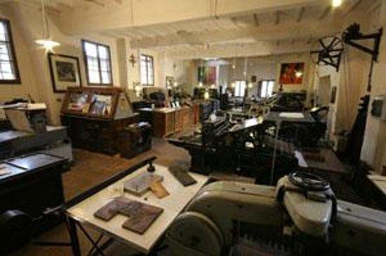 Tipografia Grifani Donati: il laboratorio