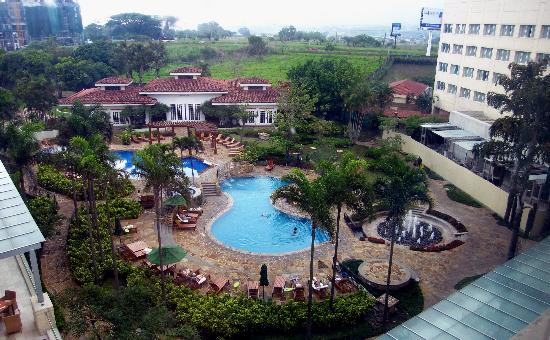 Real InterContinental Costa Rica at Multiplaza Mall: View from our room