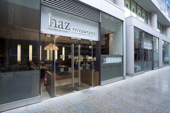 Haz Restaurant St Paul's