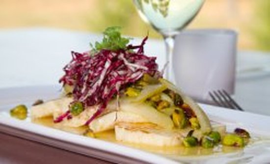 RidgeView Restaurant,Wines & Cottages: Haloumi