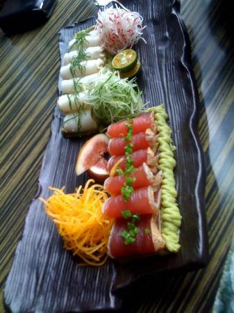 DOZO Izakaya Shanghai: red & white tuna