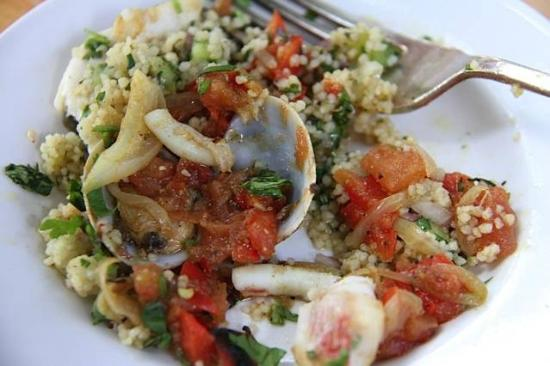 Manna from Devon Cooking School: Seafood Tagine and CousCous