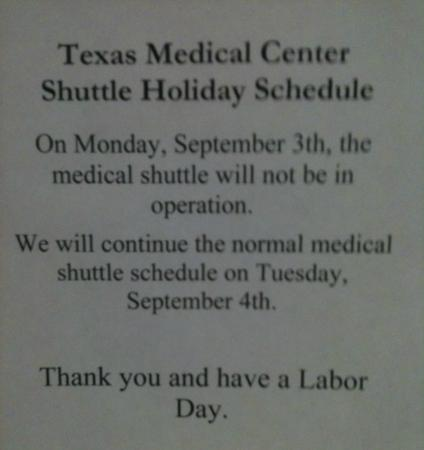 Extended Stay America - Houston - Med. Ctr. - NRG Park - Kirby: mentality here: hope you all HAD A LABOR DAY...
