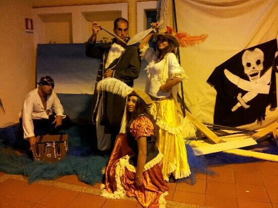 Budoni, Ιταλία: Ingresso pirati