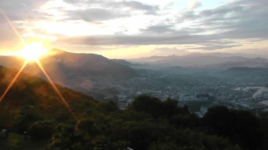 Sasebo, Japan: 日の出