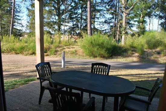 Relais du Plessis Resort: Terrasse