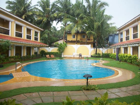 Casa De Goa Boutique Resort: View from room balcony