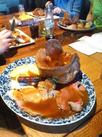The Ship Inn: A hearty roast dinner