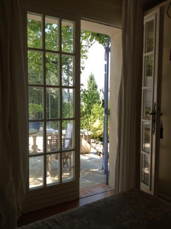 Villa Le Port d'Attache: notre petite terrasse