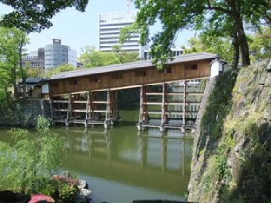 Wakayama, Giappone: 紅葉渓庭園-橋廊下