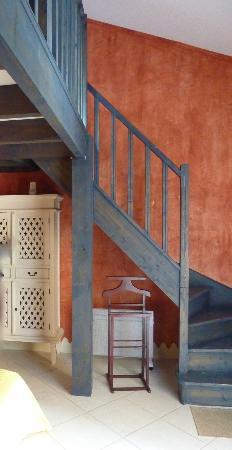 Chateau Rousselle: chambre en duplex