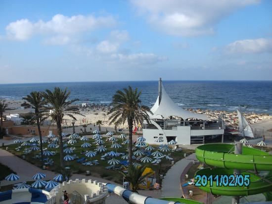 Le Marabout Hotel: view from 4th floor in block 3