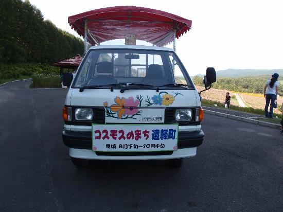 Engaru sun hills park: 観覧カート 200円